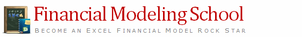 Financial Modeling School Coming on Monday [Details Inside]